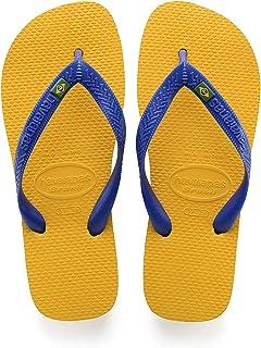 Havaianas Unisex Adult Brasil Prep Banana Yellow Flip-Flops-7 UK (40 EU) (7.5 US) (HV4000032-1652-378)