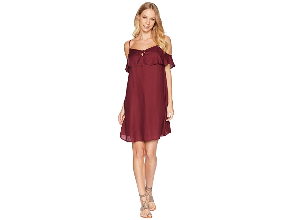 Roxy Still Waking Up Strappy Dress (Tawny Port) Women