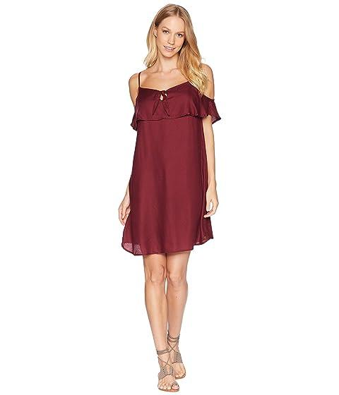 Still Waking Up Strappy Dress, Tawny Port