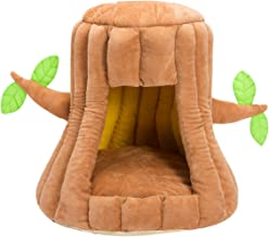 Hollypet Cozy Pet Bed Warm Cave Nest Sleeping Bed Puppy House for Cats and Small Dogs
