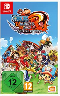One Piece Unlimited World Red - Deluxe  Edition - Nintendo Switch [Importación alemana]