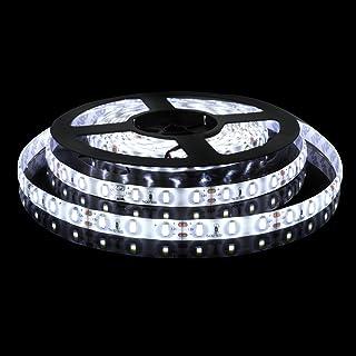Rayhoo 16.4ft/5m Flexible LED Light Strip 300 Units 5630 LEDs Waterproof DC12V 60W Light Strips LED Tape(6000K White Light)
