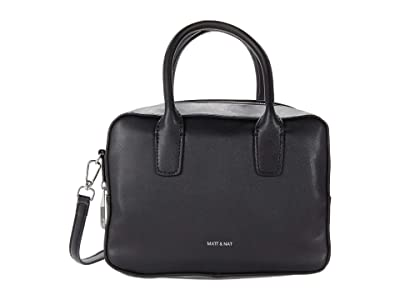 Matt & Nat Arlie Loom (Black) Satchel Handbags