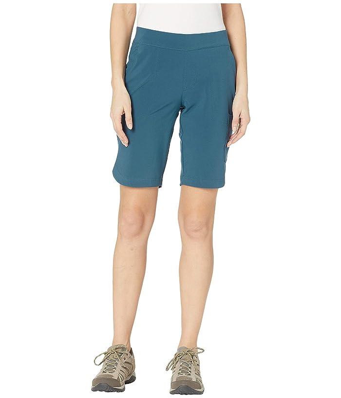 Columbia Place To Placetm Long Shorts (Petrol Blue) Women
