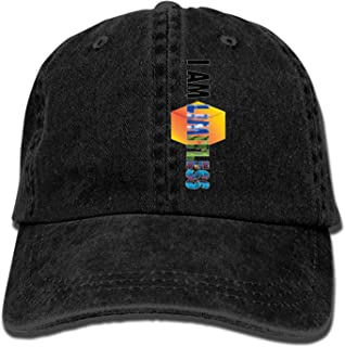 Denim Fabric Adjustable I'm A Proud CNA Vintage Baseball Cap