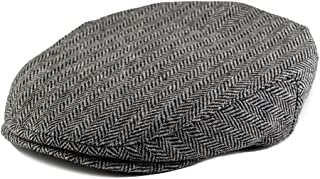 Flat Scally Cap Boy's Tweed Page Boy Newsboy Baby Kids Driver Cap Hat