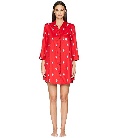 Kate Spade New York Sateen Dolls Sleepshirt