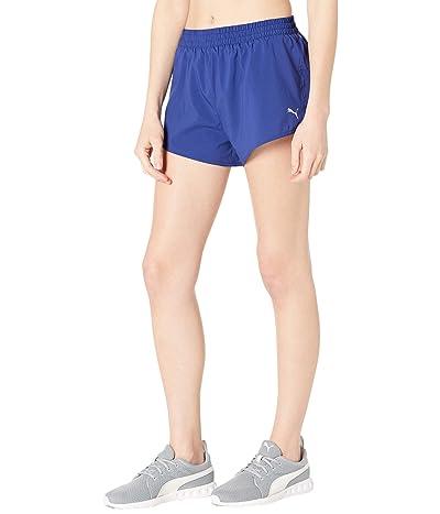 PUMA 3 Run Favorite Woven Shorts (Elektro Blue) Women