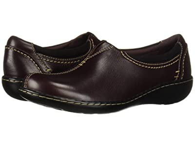 Clarks Ashland Joy (Burgundy Leather) Women