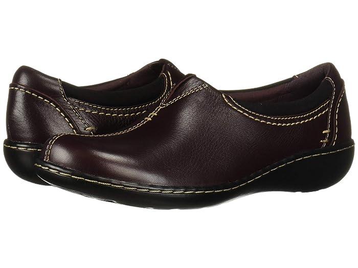 Clarks  Ashland Joy (Burgundy Leather) Womens  Shoes