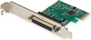 DIGITUS IO Karte   PCIe   Parallele Schnittstellen Karte   1 Port DSUB 25   Chipsatz AX99100
