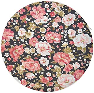 NiYoung Office Chair/Car Chair/Bar Stool Super Cozy Seat Cushion Chair Pad, Floral Rose Print Patio/Garden/Home Decoration 3D Print Pads, Durable and Washable for Men Women Kids