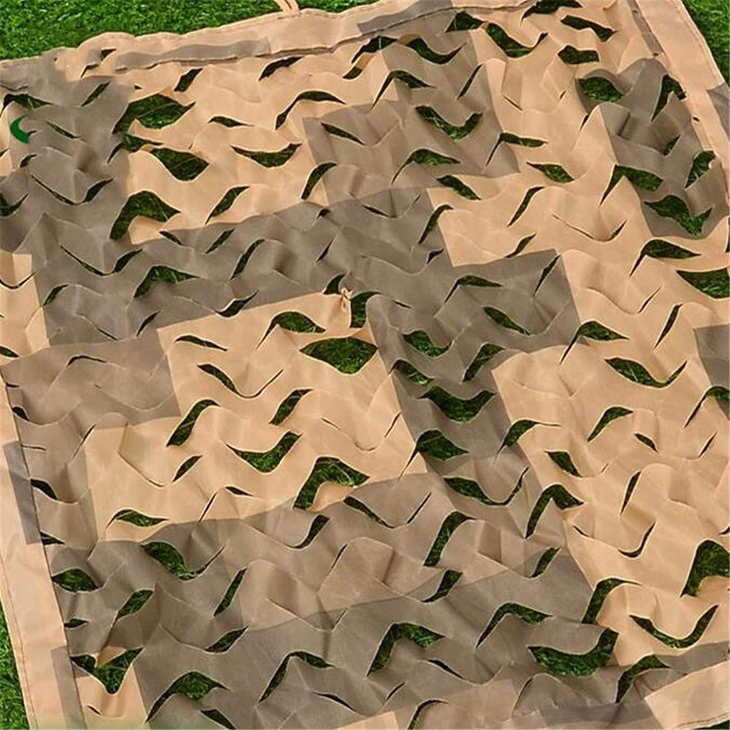 Desert Double Edging Camouflage Net Outdoor Air Defense Camouflage Net Concealed Cover Sunscreen Block Net