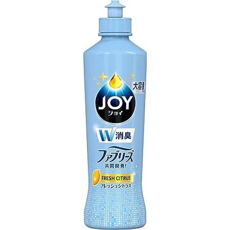ジョイ コンパクト 食器用洗剤 W消臭 フレッシュシトラス 大容量ボトル 300mL