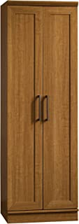 Sauder Homeplus Storage Cabinet, Sienna Oak finish