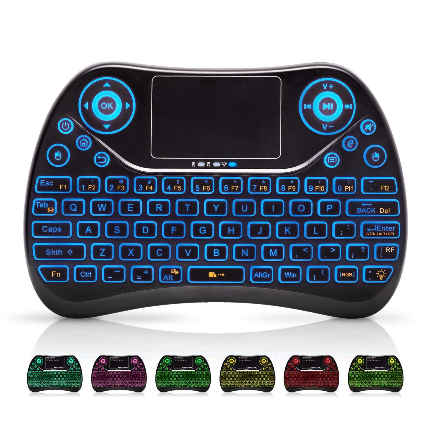 Wireless Keyboard Multimedia Rechargable Android