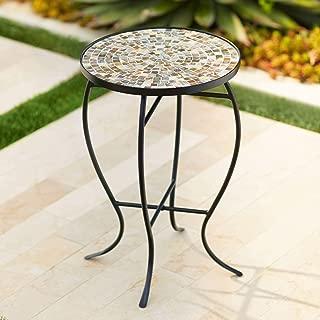 mosaic outside table