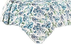 C&F Home 82466.3KSet Bluewater Bay Mini Set King Size Quilt 108 Inches X 92 Inches and 2 King Shams