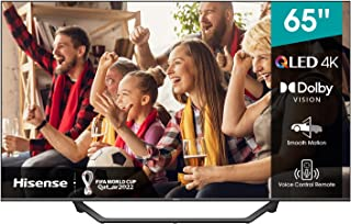 Hisense 65A7GQE QLED Series 65-inch 4K UHD Dolby Vision HDR Smart TV 60Hz Refresh Rate with YouTube, Netflix, Freeview Pla...
