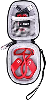 LTGEM Hard Case for Powerbeats High-Performance Wireless Earphones - (Latest Model)-red