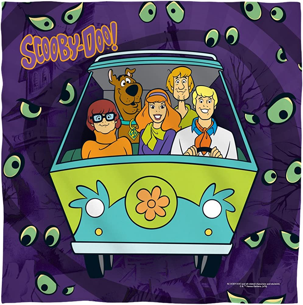 Scooby-Doo Night NEW Ride Bandana 21 x in Free shipping anywhere the nation