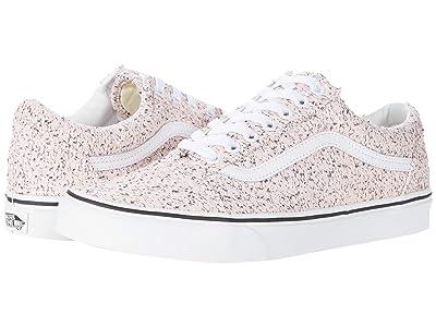 Vans Old Skooltm ((Boucle) Pink Speckle/True White) Skate Shoes