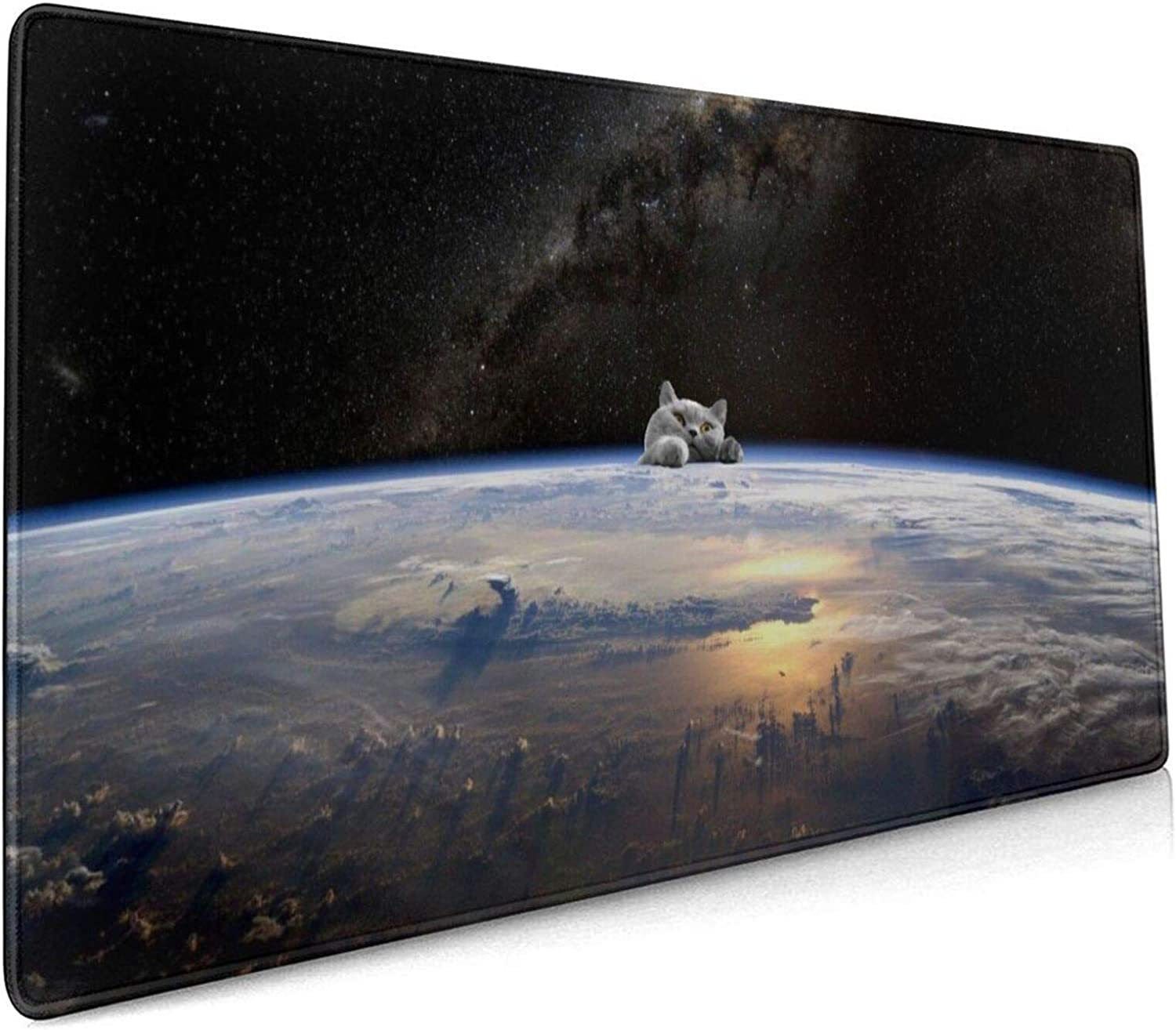 Space from クリアランスsale!期間限定! WEB限定 Earth Customized Mouse Large Pad Mousepad Gaming Non-