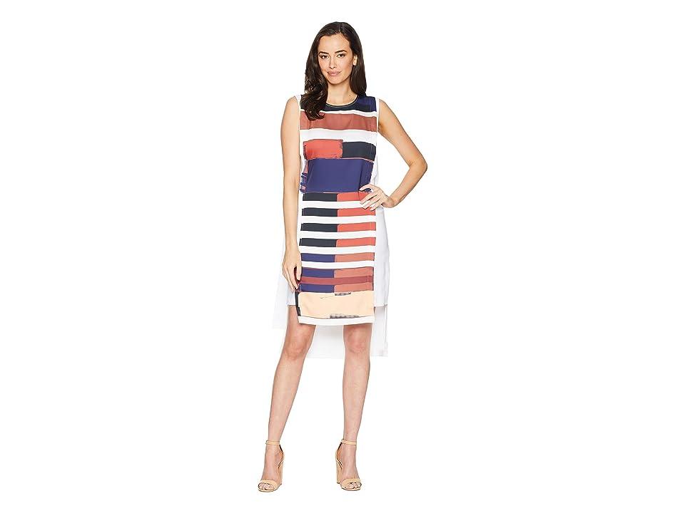 Kenneth Cole New York Column Dress (Bauhaus Placement) Women