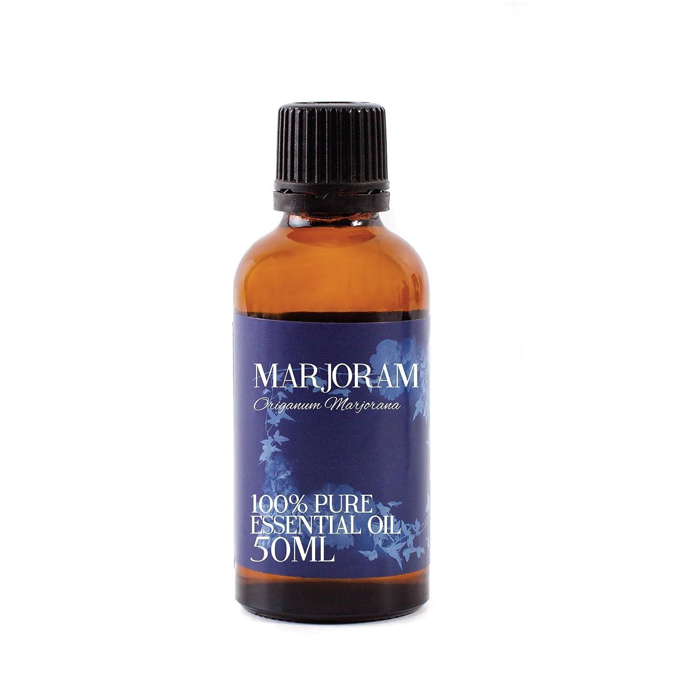 建設リス普通のMystic Moments | Marjoram Essential Oil - 50ml - 100% Pure