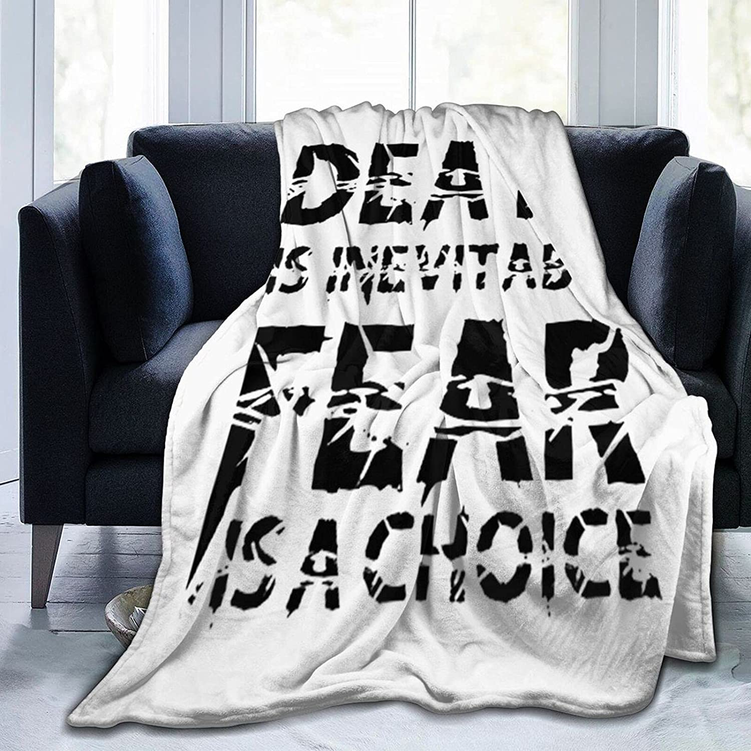 Death Super beauty product Cheap mail order specialty store restock quality top is Inevitable Blanket Soft Comfortable and Micr