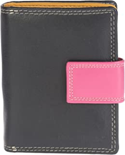Khadim's Black Synthetic Contrast Casual Notecase for Women