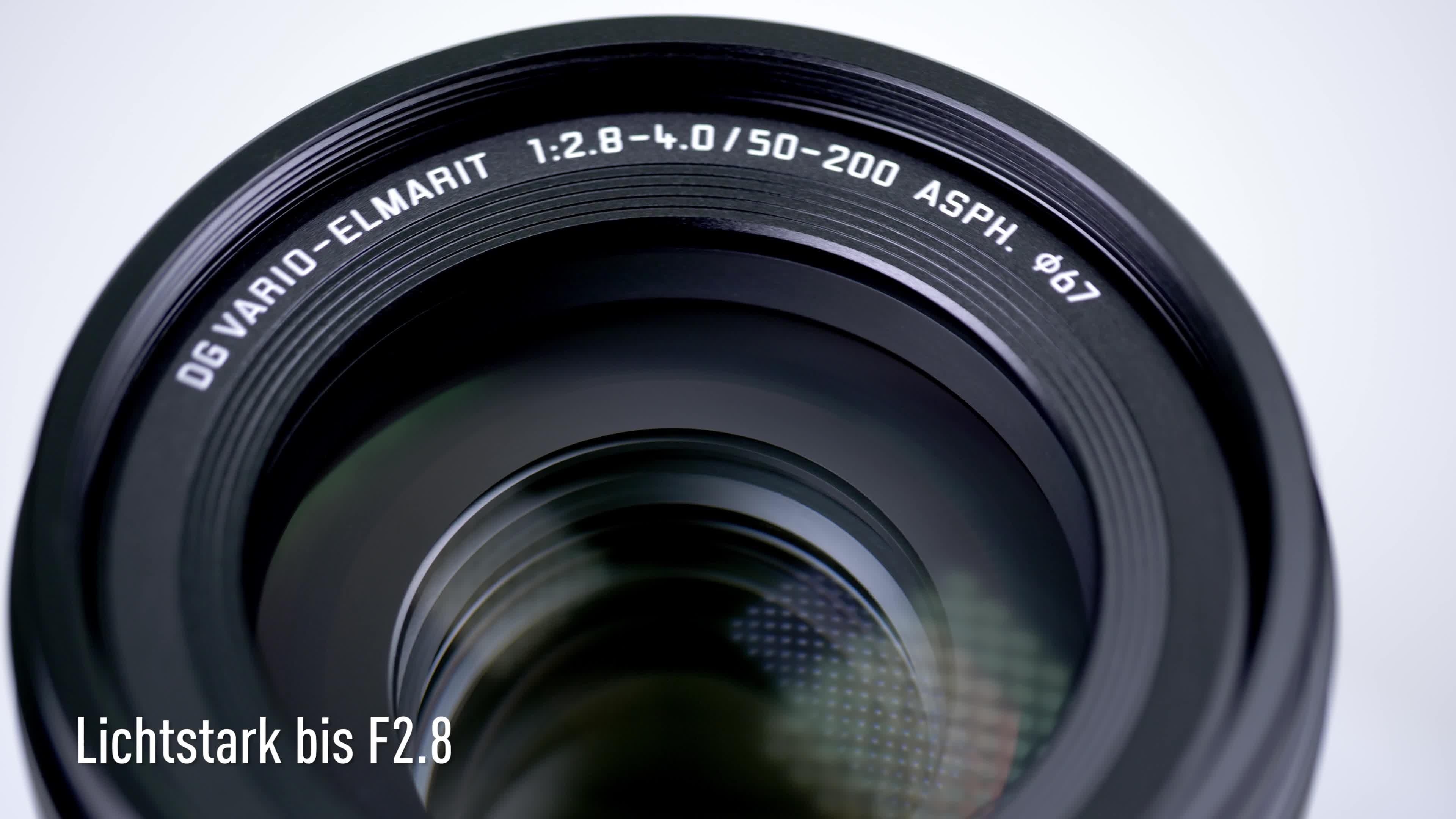 Panasonic H Es50200e9 Leica Dg Vario Elmarit Kamera Kamera
