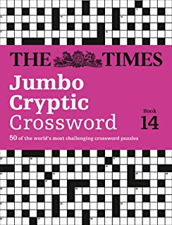 The Times Jumbo Cryptic Crossword Book 14: 50 of the World's Most Challenging Crossword Puzzles