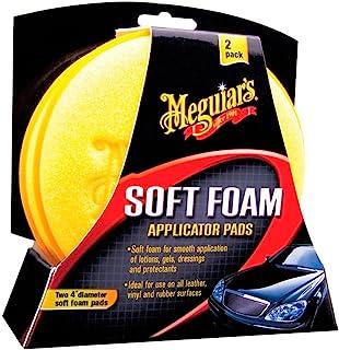 """Meguiar's X3070 Soft Foam 4"""" Applicator Pads - (Pack of 2)"""