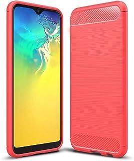 حافظة Minwu لهاتف Nokia C1، غطاء مطاطي ناعم ممتاز، مقاوم للصدمات مع مضاد للانزلاق رفيع للغاية، غطاء سيليكون مرن مع غطاء من...