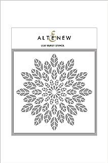 "Altenew Leaf Burst Stencil, Size (6"" x 6"")"