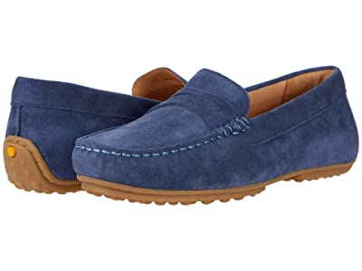 Samuel Hubbard Free Spirit For Her (Stonewashed Blue Suede/Gum Sole) Women