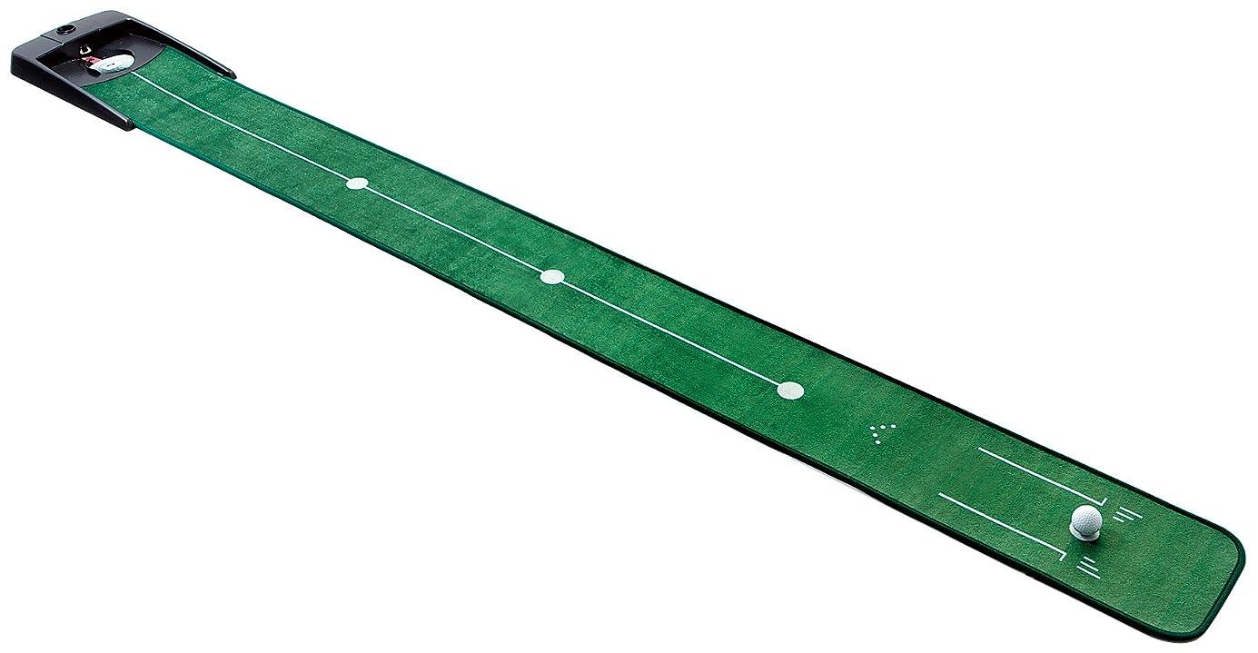 きゅうり統治する結晶ダイヤ(DAIYA) パッティングマット ゴルフ練習器 ダイヤオートパット532  TR-532   ?全長:270cm×幅25.5cm
