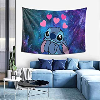 BEEPBOOP_Lilo_&_Stitch_Art Deco Tapestry for Bedroom, Living Room, Dormitory, Home Decoration,...
