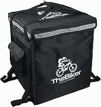 "Pizza Delivery Backpack, 20""L x 16.5""W x 16.5""H (51 x 42 x 42 Centimeter),Food Delivery Backpack, Food Delivery Bag, Thermal Backpack,Heat Insulated Backpack, Insulated Backpack 2-Way Zipper (Black)"