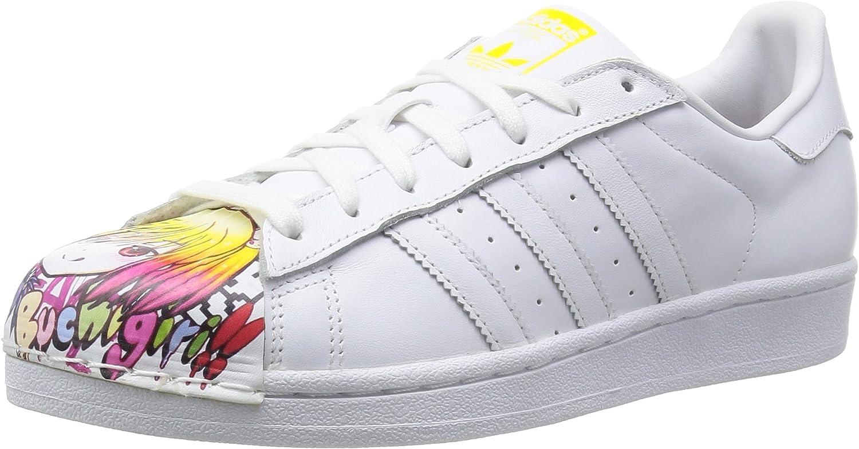 Adidas, Herren Superstar Pharrell Supershell, weiß, 43 1 3 B012ZJAZ8A  Moderne und stilvolle Mode