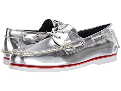 Polo Ralph Lauren Merton (Silver Metallic Leather) Men
