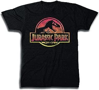 Mens Logo Shirt Classic 25th Anniversary Tee - Jurassic World T-Rex Shirt