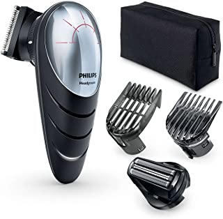 Philips QC5580 Do-it-Yourself Hair Clippers with Head Shaver Attachment
