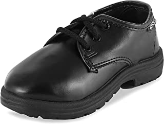 KITTENS Boy's Black Formal Shoes-1 UK/India (33 EU) (KTB236)
