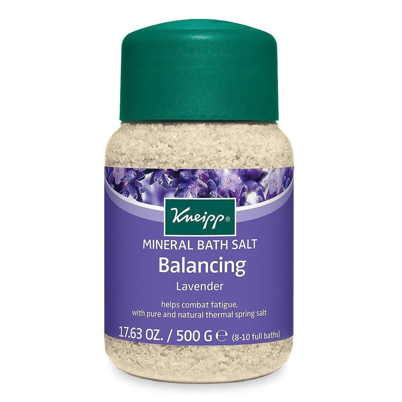 アドバンテージ兄警告Kneipp BALANCING MINERAL BATH SALT Balances The Emotions LAVENDER 500g