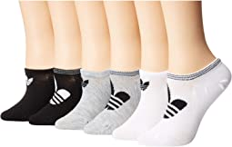 Originals Trefoil Superlite 6-Pack Super No Show Sock