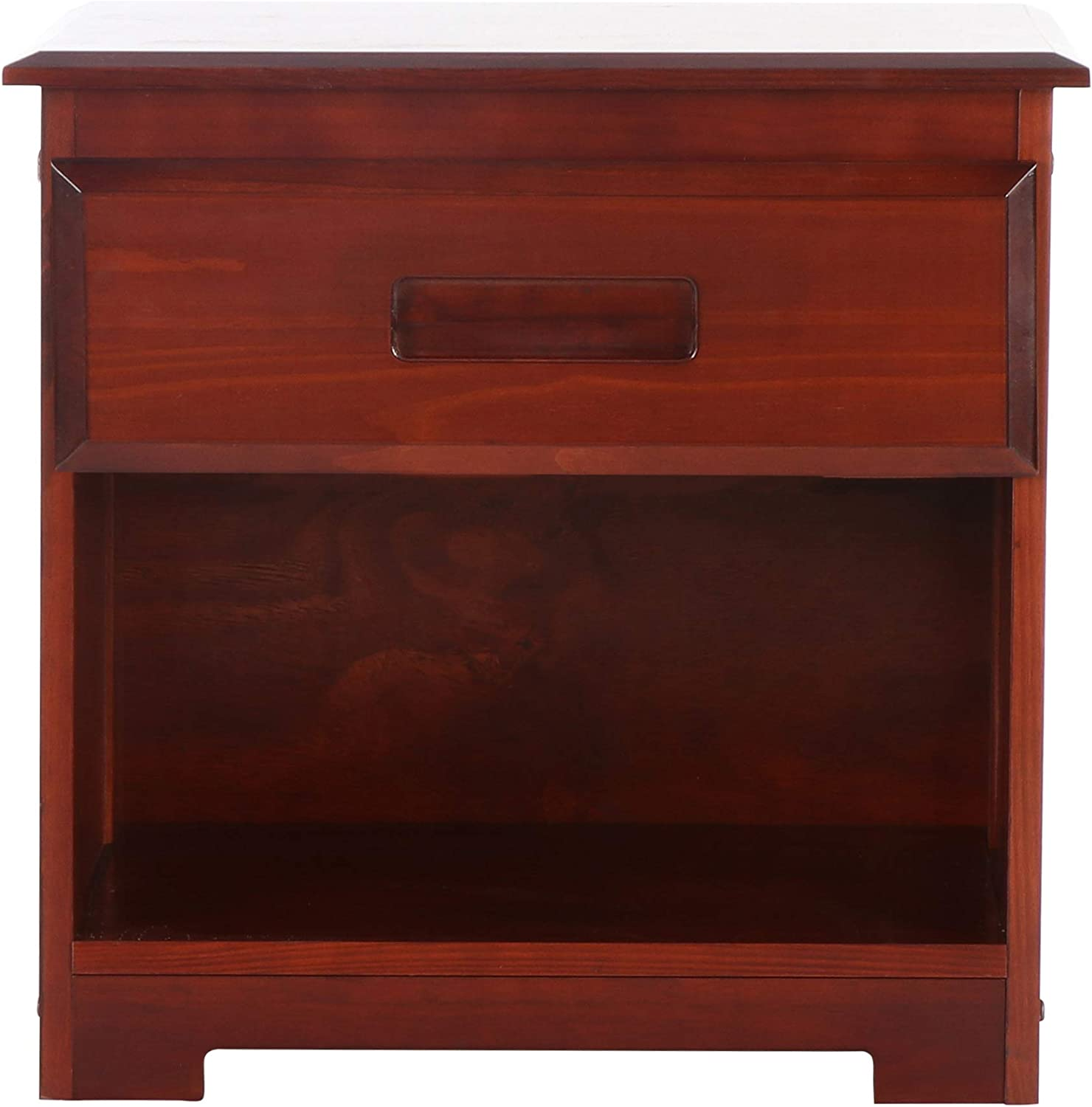 Discovery Max 56% OFF World Furniture Nighstand Max 61% OFF Merlot
