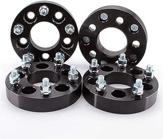 ZY Wheel 4pcs Wheel Spacers Adapters 1.25
