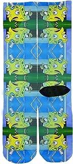 SPONGEBOB CHICKEN MEME Custom Socks